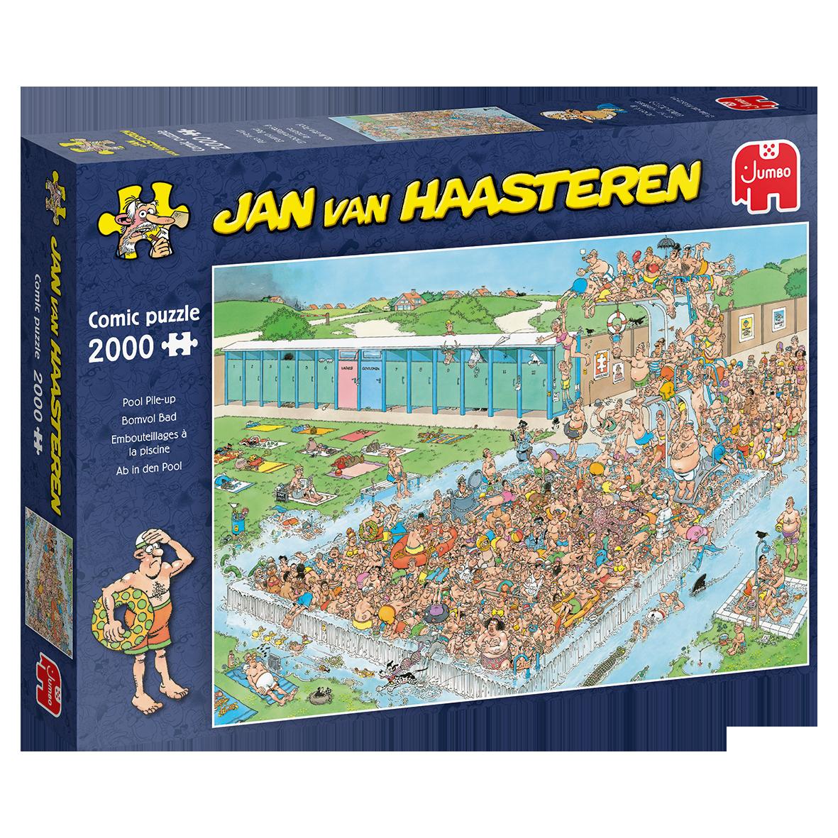 Jan van Haasteren Bomvol Bad